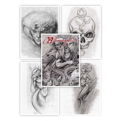 Tattoo Flash book - Biomorphe 3: The Drawings And Sketches Of Paco Dietz