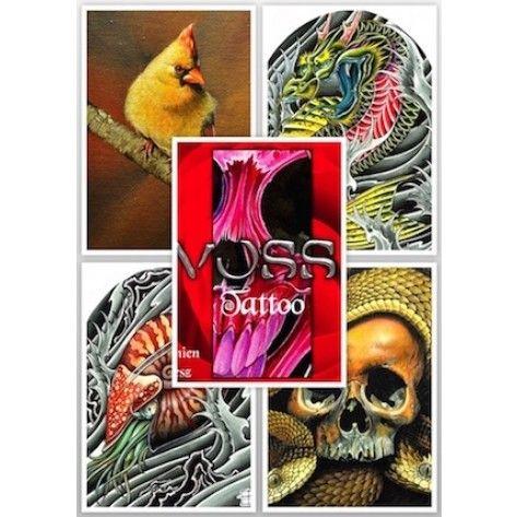 Tattoo Flash Book - Damien Friesz Voss Tattoo