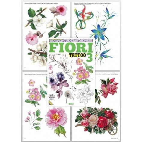 Tattoo Flash Book - Flower Tattoo Book (Fiori Tattoo 3)