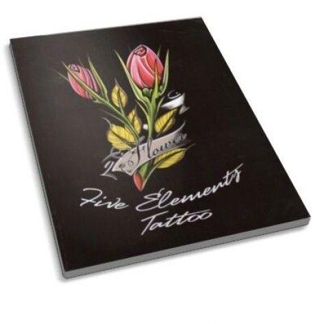 The Tattoo Book - Flower Tattoo Designs