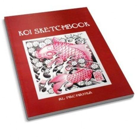 Tattoo Ebook - Al Pachanka Koi Sketch Book