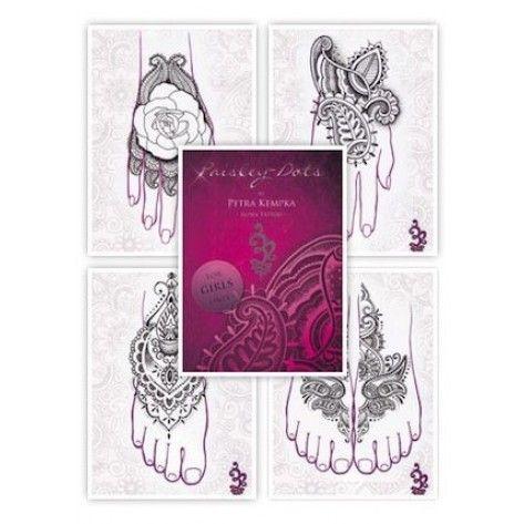 Tattoo Flash book - Petra Kempka - Paisley Dots Vol.1
