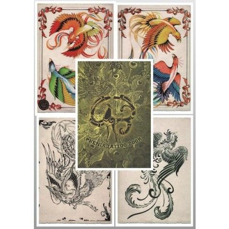 Tattoo Flash Book - Phoenix Tattoo Book