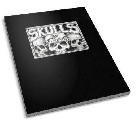 Skulls By Filipleu - A Tattoo Sketch Book