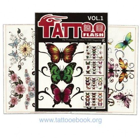 Tattoo Book - Tattoo Flash II Volume 1