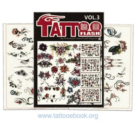 Tattoo Book - Tattoo Flash II Volume 3