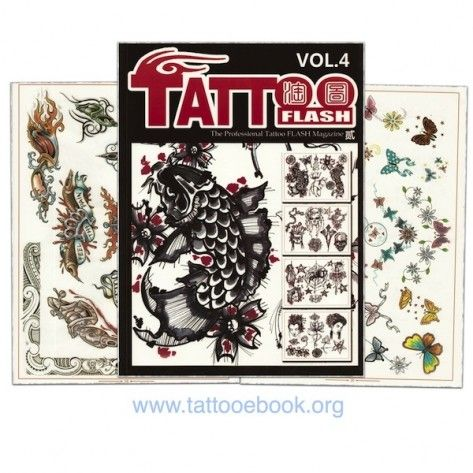 Tattoo Book - Tattoo Flash II Volume 4