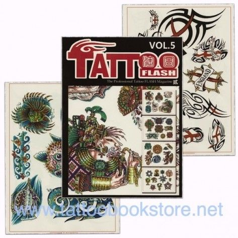 Tattoo Book - Tattoo Flash II Volume 5