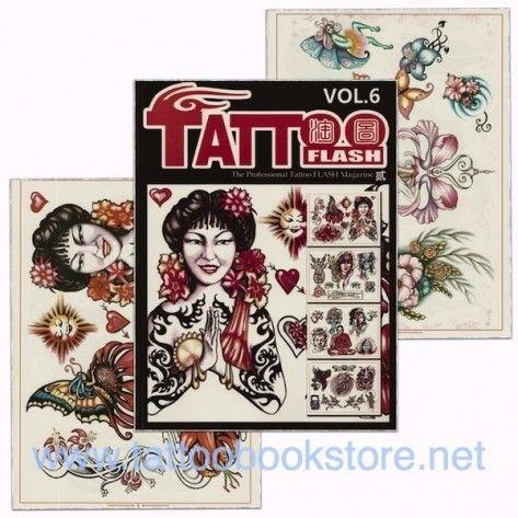 Tattoo Book - Tattoo Flash II Volume 6