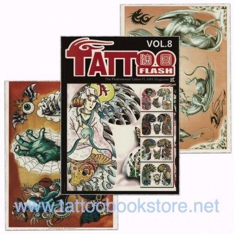 Tattoo Book - Tattoo Flash II Volume 8