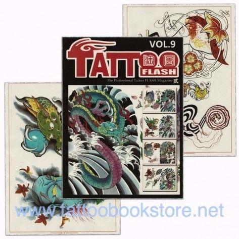 Tattoo Book - Tattoo Flash II Volume 9