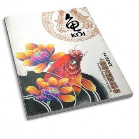 Tattoo book - Tenglong Tattoo Flash Koi