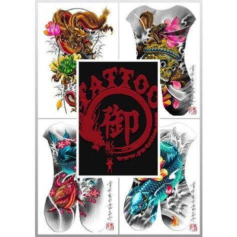 Tattoo Flash Book - Yu Tattoo Design Book