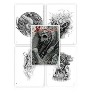 Tattoo Flash book - Biomorphe 1: The Drawings And Sketches Of Paco Dietz