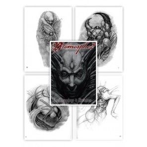 Tattoo Flash book - Biomorphe 2: The Drawings And Sketches Of Paco Dietz