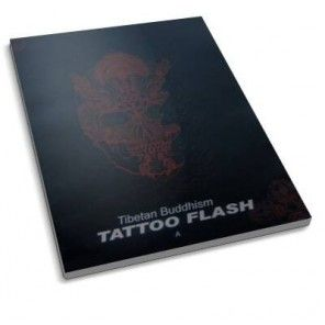 TIBETAN BUDDHISM TATTOO SKETCH FLASH DESIGN ART BOOK VOL.A
