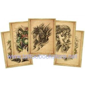 Chinese Style Tattoo Flash book 1