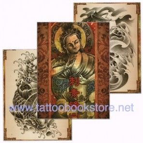 Chinese Style Tattoo Flash book 2