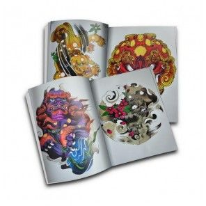 Chinese Style Lion tattoo design book