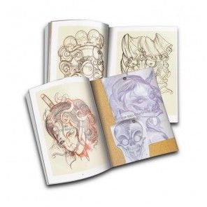 Cpllection of tattoo artist - tattoo design book