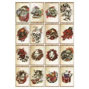 China Style Tattoo Flash Book - Oriental Imprint 2