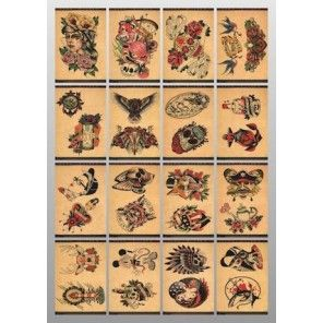 China Style Tattoo Flash Book - Oriental Imprint 4