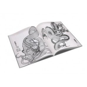 Tattoo Book 100 Dragon by Horimouja