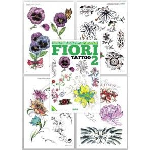 Tattoo Flash Book - Flower Tattoo Book (Fiori Tattoo 2)