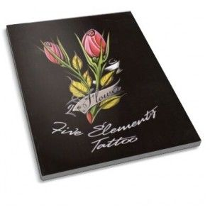 The Tattoo Book - Flower Tattoo Designs