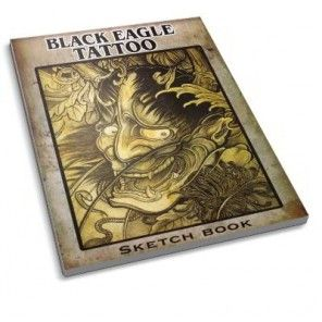 The Tattoo Book - Black Eagle Tattoo Sketch Book