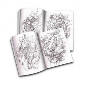 GuiyinKongjian - A chinese tattoo design book