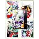Tattoo Flash book - Jing Diao Tattoo Sketch Book