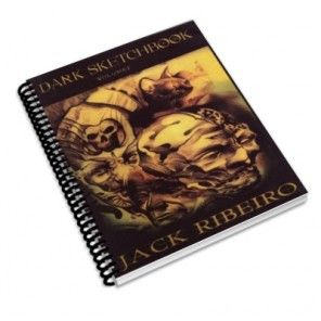 Dark Sketch Book Two - tattoo designs book