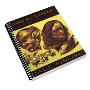 Dark Sketch Book Three - tattoo designs book