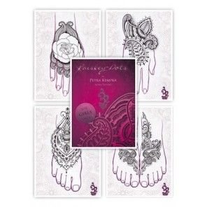 Tattoo Flash book - Petra Kempka - Paisley Dots Vol.1