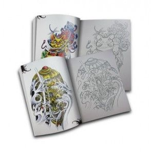 The Tattoo Book - Jigsaw Games Oriental Style Tattoo Flash