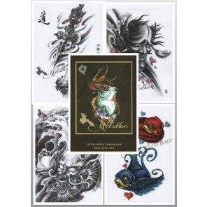 Tattoo Flash Book - Qiangzi Tattoo Design Book I