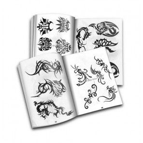 Qing Teng Zhi - Chinese tribal tattoo designs book