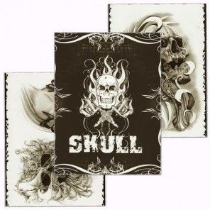 Skull Tattoo Design Book