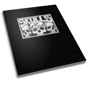 Skulls By Filipleu - A Tattoo Sketch Book