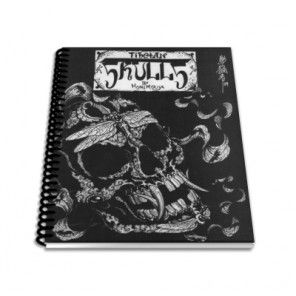 Tattoo Book - Tibetan Skulls by Horimouja