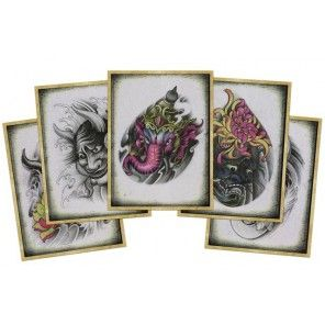 China Style Tattoo Flash Book -Tang Tattoo