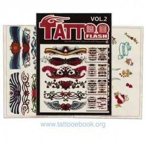 Tattoo Book - Tattoo Flash II Volume 2