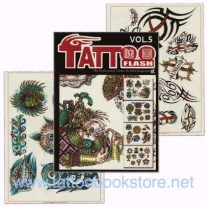 Tattoo Book - Tattoo Flash II Volume 5