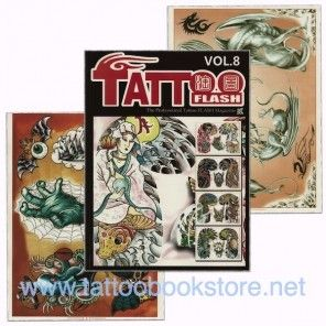 Tattoo Book - Tattoo Flash II Volume 8