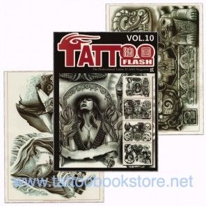 Tattoo Book - Tattoo Flash II Volume 10