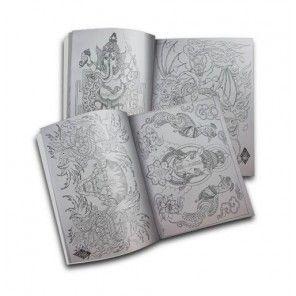 TIBETAN BUDDHISM TATTOO SKETCH FLASH DESIGN ART BOOK VOL.B
