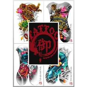 Tattoo Flash Book - Yu Tattoo Design Book