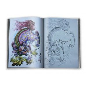 Lucky Chart - a tattoo book designed by chinese tattooist